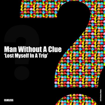 cover man without a clue lost myself in a trip