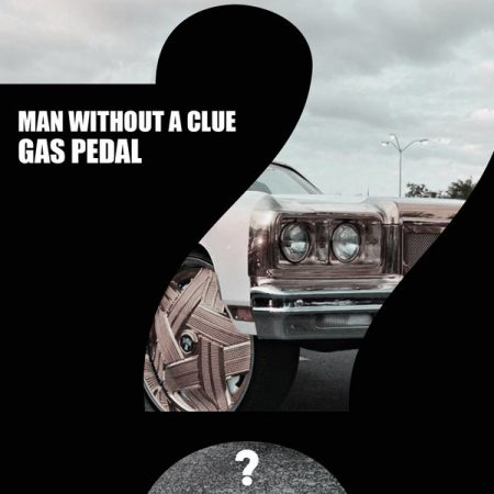 man without a clue gas pedal cover